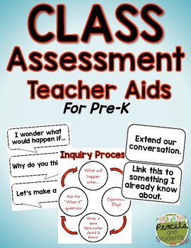 CLASS Assessment Teacher Aids