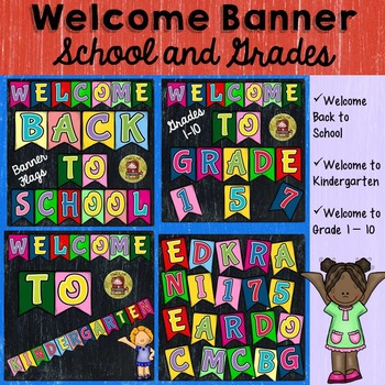 CLASS DECOR BUNDLE {LETTERS OF THE ALPHABET, NUMBERS 1-100, WELCOME BANNER}