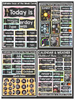 CLASS DECOR BUNDLE {CALENDAR, CENTER SIGNS, BEHAVIOR & DISMISSAL CHARTS}
