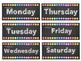 CLASS DECOR SET MONTHS, SEASONS & DAYS