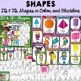 CLASS DECOR BUNDLE {SHAPES, COLORS, WELCOME BUNTING, EDITA