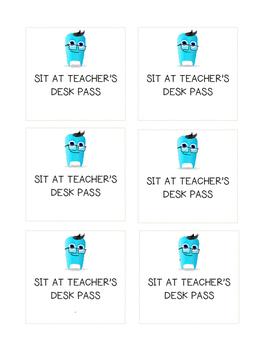 CLASS DOJO - Teacher's Desk