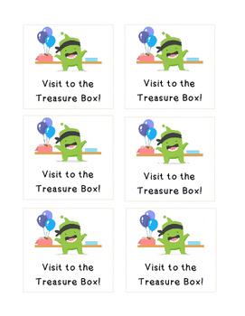 CLASS DOJO - Treasure Box!