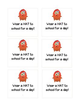 CLASS DOJO - Wear a Hat