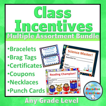CLASS INCENTIVES BUNDLE