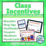 Class Incentives Set