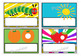 Desk Plates - The Very Hungry Caterpillar Theme, Set of 28, Tabloid size