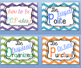 CLASS RULES EXPECTATIONS PRINTABLE POSTER COLOR/BLACK B PO