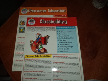 CLASSBUILDING  CHARACTER ED     (SET OF 2)