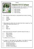 """CLASSIC MASTERPIECE: Sublime """"Hatchet"""" Quiz on Chapters 16-19 plus Epilogue"""