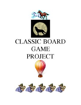 CLASSIC NOVELS AND BOARDGAME PROJECT