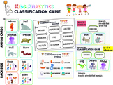 CLASSIFICATION GAME By KIDS ANALYTICS!