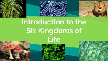 CLASSIFICATION: Intro to Six Kingdoms Slide Deck!