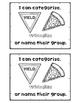 CLASSIFY CATEGORIZE shapes