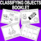 Classifying objects by size, shape, texture & color - Book