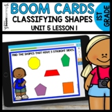 CLASSIFYING SHAPES | BOOM CARDS | DIGITAL TASK CARDS | Mod