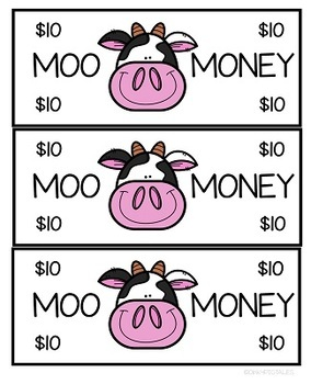 Cow Theme Rewards and Behavior for Classroom Management