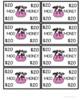 Farm Theme COW Play Money Set for Rewards and Behaviors
