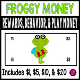 Play Money FROGS for Behavior Rewards and Centers