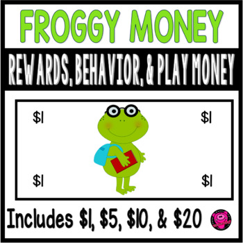FROGS CLASSROOM MANAGEMENT and REWARDS SET