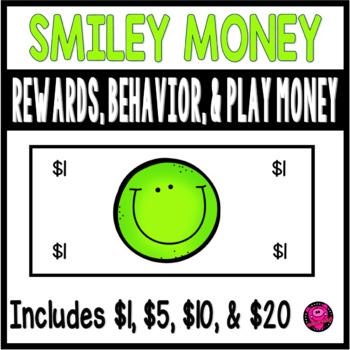 SMILEY FACE LIME GREEN THEME CLASSROOM REWARD and BEHAVIOR SET