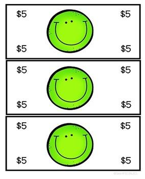 Play Money for Classroom Rewards and Behavior