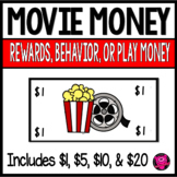 Movies Classroom Money for Dramatic Play Rewards and Behavior