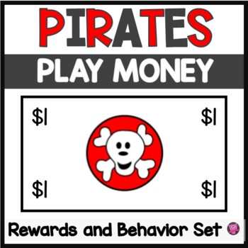 Pirate's Flag Character Education in the Classroom Set