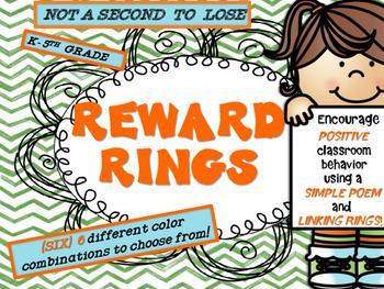 CLASSROOM BEHAVIOR REWARD RINGS POSTERS