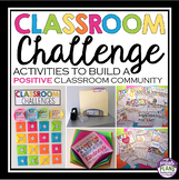 BACK TO SCHOOL ACTIVITIES: CLASSROOM CHALLENGE ACTIVITIES