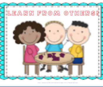 CLASSROOM COMMUNITY--BEAUTIFUL POSTERS AND ACTIVITIES TO PROMOTE EXPECTATIONS