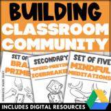 CLASSROOM COMMUNITY Icebreakers Games Activities for Positive Classroom Culture