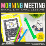 CLASSROOM COMMUNITY MORNING MEETING: TEACHING PATIENCE