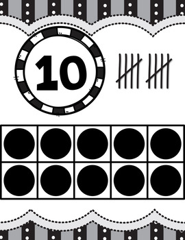 CLASSROOM COUNTING TO 20 POSTERS