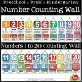 CLASSROOM COUNTING WALL - NUMBERS 1 TO 20