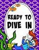 CLASSROOM DECOR MEGA BUNDLE (under the sea, mermaid, brightly colored, fish)