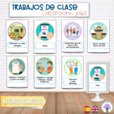 CLASSROOM JOBS- AYUDANTES CLASE- Cooperative learning roles- Roles cooperativo
