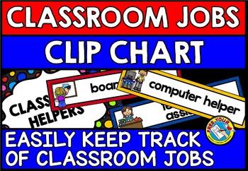 CLASSROOM MANAGEMENT CLASSROOM RESOURCE(JOBS CHART/ CLASSR