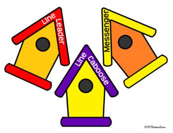 CLASSROOM JOBS: Classroom Decor, Blue & Green, Classroom Management