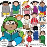 CLASSROOM KIDS Clipart (Karen's Kids Clipart)