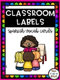 CLASSROOM LABELS-SPANISH