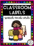CLASSROOM LABELS-SPANISH