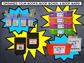 CLASSROOM LIBRARY LABELS- AR-DRA-GUIDED READING-THEMATIC