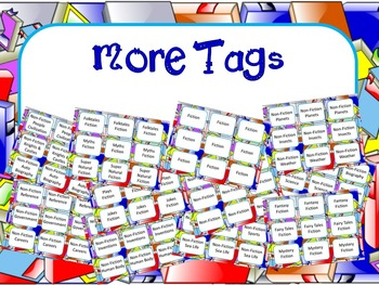 CLASSROOM LIBRARY TAG: BOOKS BACKGROUND