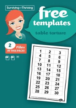 CLASSROOM MANAGEMENT - Table Torture