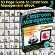 CLASSROOM MANAGEMENT BUNDLE 80 Page eBOOK+EDITABLE Workboo