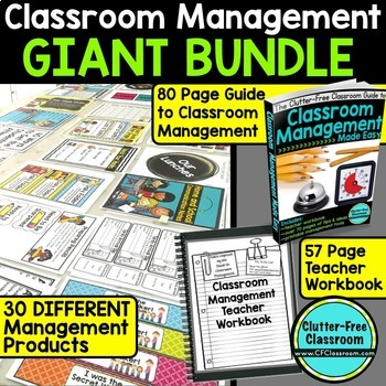 CLASSROOM MANAGEMENT BUNDLE for BACK TO SCHOOL (read the reviews)