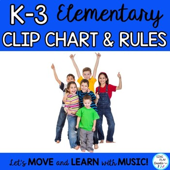 Behavior Chart and Classroom Management Plan and Editable Posters