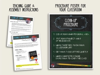 CLASSROOM MANAGEMENT - Clean Up Cards