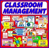 CLASSROOM MANAGEMENT -EYFS KS1-2 JOBS CERTIFICATES BIRTHDAYS ENCOURAGEMENT